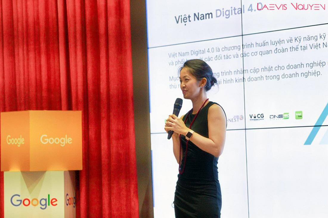 Chị Đỗ Mỹ Ninh - Giám đốc Marketing của Google Việt Nam
