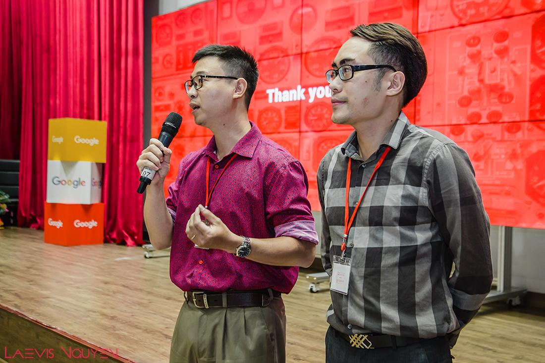 Mr. Laevis Nguyen and Mr. Ha Manh Tuan - Managing Director at Krypto