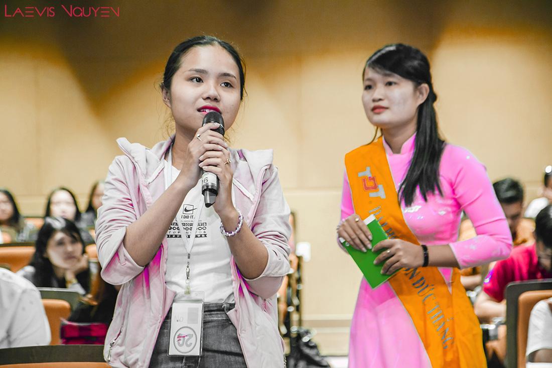 Ton Duc Thang University students