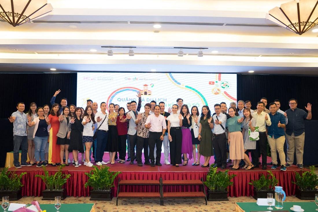 Hình lưu niệm event Google phối hợp tổ chức cùng Sở Du Lịch TP HCM
